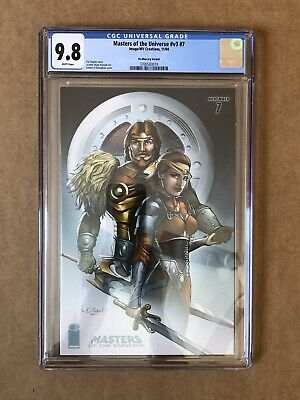 $1500 • Buy Masters Of The Universe Vol 3 #7 CGC 9.8 He-Man.Org Variant Only Copy In Census!