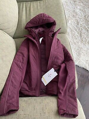 $ CDN135 • Buy Brand New With Tags Lululemon Another Mile Jacket Size 2 Cassis