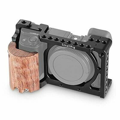 $ CDN116.31 • Buy SMALLRIG A6300 Cage With Wooden Handgrip For Sony A6300/a6