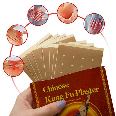 8 X Chinese Kung Fu Pain Relief Patch Joint Back Medicated Plaster UK • 3.83£