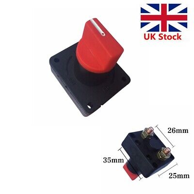£5.59 • Buy 2X 12V 300A Car Boat Battery Power Isolator Master Disconnects Cut Off Switch