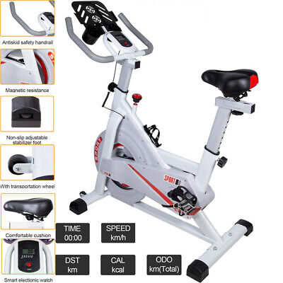 Exercise Spin Bike Home Gym Bicycle Cycling Cardio Fitness Training Indoor UK • 219.99£