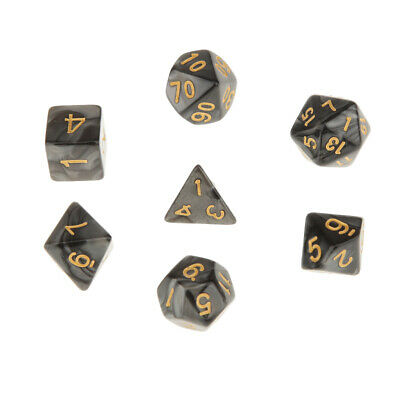 AU9.04 • Buy 7X Polyhedral Dice Game For  D20 D12 D10 D8 D6 RPG Dice