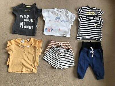Twin Baby Boys Clothing Bundle - 3-6 Months • 15£