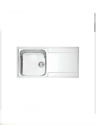 Franke Maris Slim Top Inset Kitchen Sink Stainless Stee 1 Bowl1000x510mm (2843f) • 99£