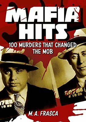 Mafia Hits By M. A. Frasca Book The Cheap Fast Free Post • 8.99£