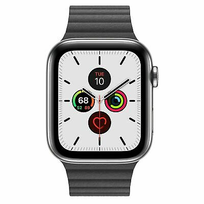 $ CDN378.38 • Buy CUST Apple Watch Series 3 Or 4 (38mm-44mm) (GPS + Cellular) Stainless Steel 16GB