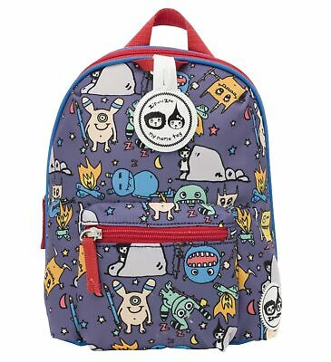 Monster Toddler Kids Children Mini Backpack Rucksack With Reins Girl Boy • 32.99£