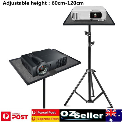 AU48.12 • Buy Laptop Projector Tripod Stand Adjustable Floor Laptop Stand Holder With Tray AU
