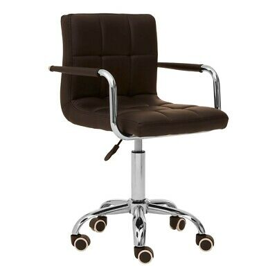 AU280.41 • Buy Black Home Office Chair With Swivel Base