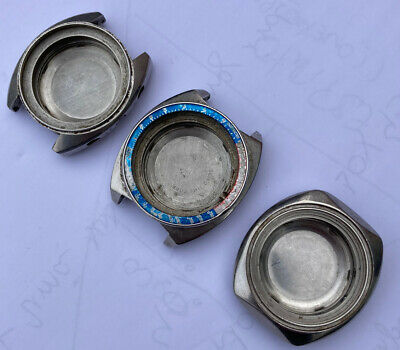 $ CDN253.90 • Buy Lot Cases Seiko (sold As Is)parts Or Repair (6139-6005/8002/6012) Pogue