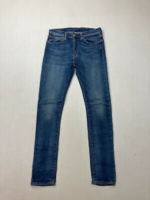 LEVI 519 SKINNY Jeans - W32 L34 - Blue - Great Condition - Men's • 29.99£