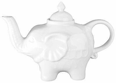 BIA Cordon Bleu, Inc. Elephant Teapot One Size White • 14.62£