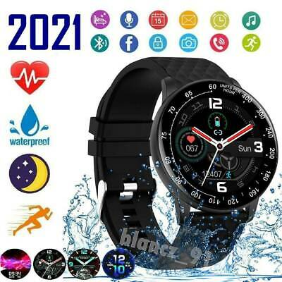 AU38.99 • Buy 2021 Smart Watch IP68 ECG Blood Oxygen Pressure Heart Rate For Android IPhone /.