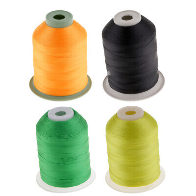 4pcs Nylon Whipping Wrapping Threads For Fishing Rod Rings Guides 2187Yds • 26.39£