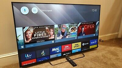 Sony Bravia KDL-55W809C 55  TV Small 1 Inch Scratch See Photos • 365£