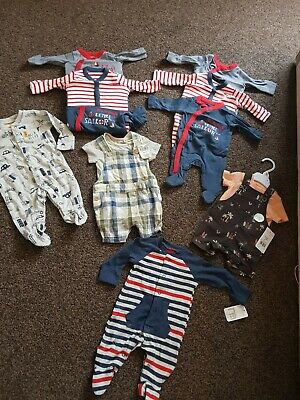 Bnwt Baby Boys Twins Clothes Bundles Size Tiny Baby ,upfrom Mothercare,Tu ,tesco • 42£