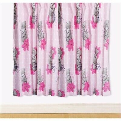 £5.99 • Buy Children's Me To You Tatty Teddy Pink Precious 66  Wide X 54  Drop Curtains