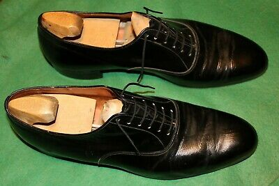 Bally Lyon Black Leather Men Shoes With Shoe Trees Size 9d • 60£