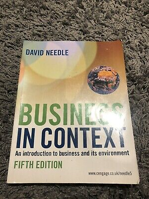 Business In Context Book • 15£