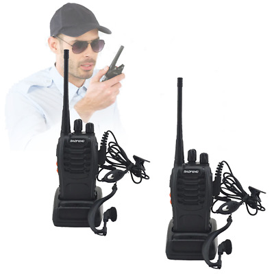 $ CDN50 • Buy 2pcs Walkie Talkie 888s UHF 400-470MHz 16Channel Long Range Two Way Radio