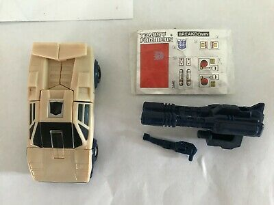 AU60 • Buy Breakdown Stunticons Vintage G1 Transformers 100% Complete Stickers Unapplied