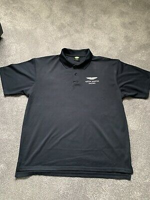 Used - Aston Martin Racing - Polo Shirt Dark Blue XXL • 15£