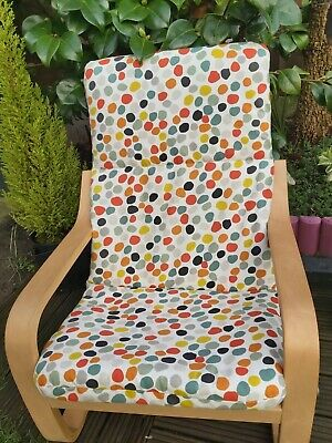 Ikea Poang Kids Chair Cover, Slipcover,children's Cushion,washable,padded • 17£