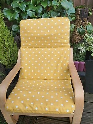Ikea Poang Kids Chair Cover,  Children's Cushion,washable,padded, • 16£