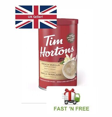 £16.99 • Buy Tim Hortons French Vanilla Cappuccino *UK SELLER* Dispatch Within 24 Hours