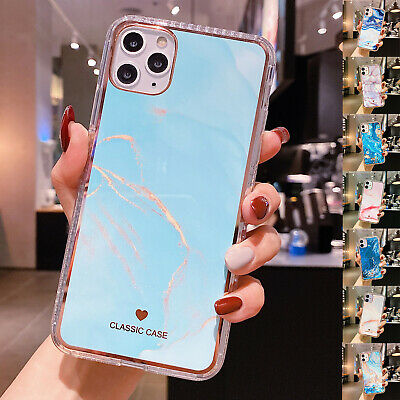 AU8.99 • Buy For IPhone 12 11 Pro Max 12 Mini XR XS 7 8 Plus Case Marble Rubber Slim Cover