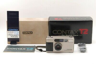 $ CDN1458.99 • Buy 【MINT- In BOX】 CONTAX T2 Point & Shoot 35mm Film Camera Chrome From JAPAN