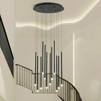 £504.79 • Buy Modern Chandelier Lighting For Living Dining Room Rotating Staircase Fixture New