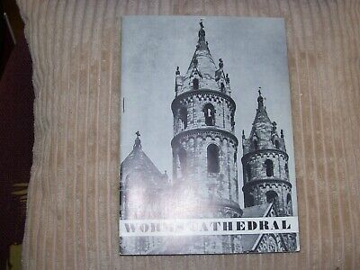 Vintage 1982 English Guide To Worms Cathedral, Germany • 0.99£