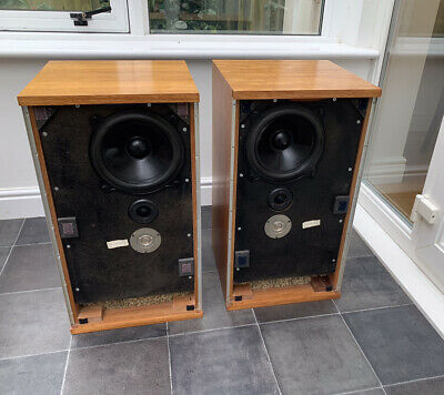 B&W DM2 Bowers And Wilkins Professional Monitor Speakers Audiophile England UK • 350£