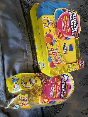Zuru Bunch O Balloons Machine Blue And Extra Gold Pack New • 14.99£