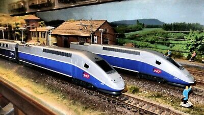 AU270.12 • Buy Jouef Ho 1:87 Tgv Euroduplex Livery Logo Sncf. 4 Elements