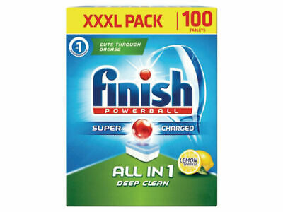 Finish 3050449 All In 1 Dishwasher Tablet - 100 Pack • 8£