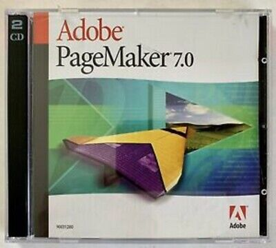 Adobe PageMaker 7.0 Windows / Mac Installation Discs 90031280 • 49.99£