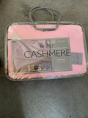 Oliver Pascal Pink Cashmere Blanket/throw ! New In Bag .  • 30£