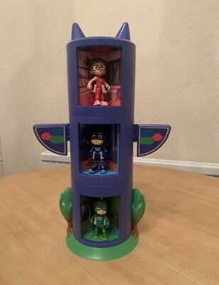 PJ Masks - Spinning Tower Blocks That Change Characters & Figures - VGC • 24.50£