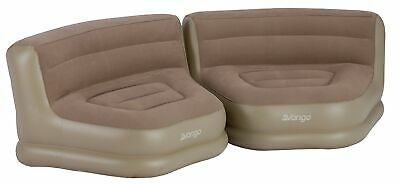 Vango Inflatable Relaxer Chair Set, Nutmeg, One Size • 81.99£