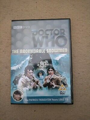 Doctor Who Troughton The Abominable Snowman Recon Dvd Case & Free Extras • 5.49£