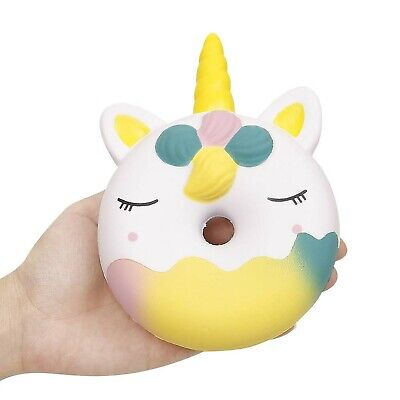 AU49.79 • Buy Anboor Squishies Unicorn Doughnut Slow Rising Squeeze Toys Stress Reliever Ka...