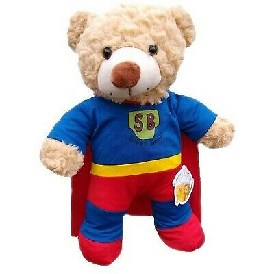 Superhero Super Ted Superman Costume - Teddy Bear Clothes Outfit (16 Inch Out... • 24.99£