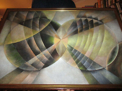 'Endless Spiral Rythem' After SONIA DELAUNAY's - Spiral Compositions Signed COA • 115£