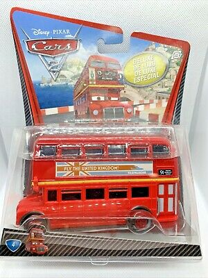 $ CDN22.15 • Buy 2010 Mattel Disney Cars 2 Deluxe Double Decker Bus Diecast Collectible