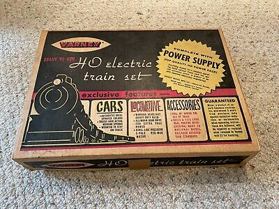 $ CDN25.52 • Buy Varney HO Vintage Electric Train Set Track With Box And HO Power Pack