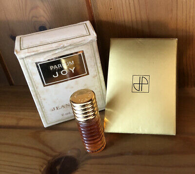 Jean Patou Paris Parfum Joy Perfume Vintage Boxed 6ml Ridged Bottle 1978 Batch • 29.95£