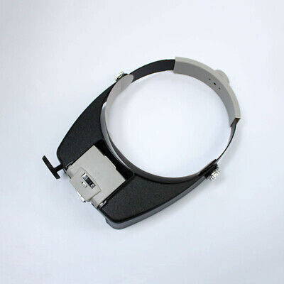 New Head Loupe Glass Led Multi Magnifier Visor Magnifying With Light Lens Power • 13.49£